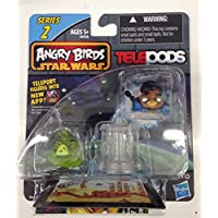 Angry Birds Star Wars Telepods Series 2 Lando Calrissian Bird & Jabba The Hutt Pig