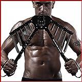 【トリプルエス®】 筋トレ 最強 マシーン 大胸筋 腕 アームバー エキスパンダー 30kg ~60kg 調整可能 短期間でムキムキ