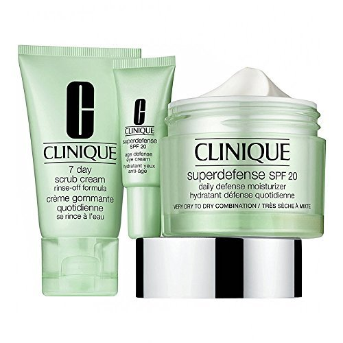 Clinique Superdefense Spf15 Very Dry to Dry Combination 50ml Set 4 Parti