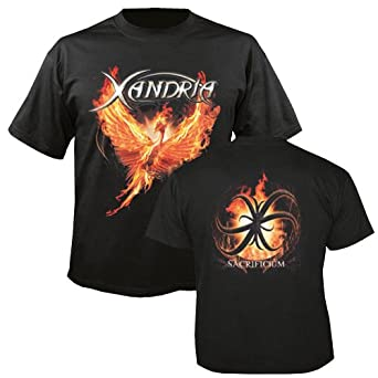 XANDRIA - Sacrificium - T-Shirt Größe XXL
