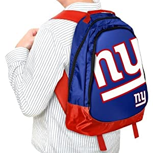 York Giants NFL Core Structured Lightweight Backpack from Forever Collectibles