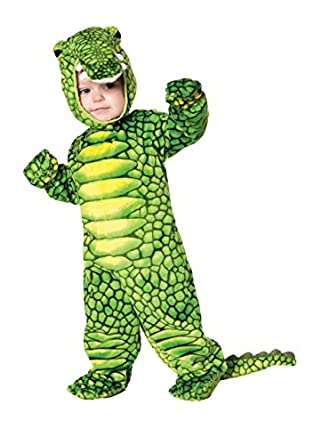 Underwraps Baby's Alligator, Green/Black, Large