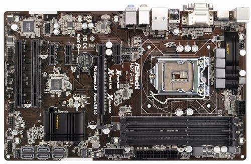 ASRock マザーボード (HASWEL対応)  H87 ATX USB3.0 SATA3 H87 Pro4