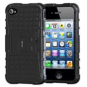 S-Line Kick Stand case for Apple iPhone 4G