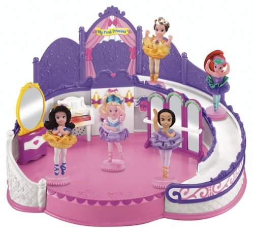 Buy Low Price Fisher Price Disney Princess Ballet Studio Figure (B0002KVKFM)