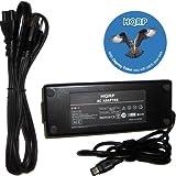 HQRP Multi Pin 120W Ac Adapter + Power Cord for HP Pavilion ZV6000 ZV6100 ZV6200 / HP Compaq R4000 R4100 R4100 CTO Series, X6000 plus HQRP Coaster ~ HQRP