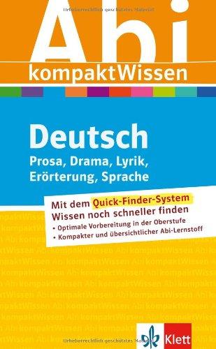 AbiWissen kompakt Deutsch