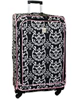 Jenni Chan Damask 360 Quattro 28 Inch Upright Spinner Luggage