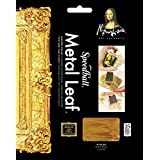 Speedball 10204 Mona Lisa Composition Gold Leaf, 25 Sheet Pack