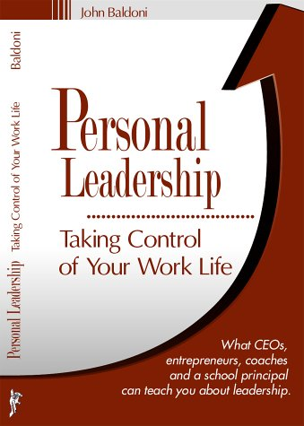Image for Personal Leadership : Taking Control of Your Work Life