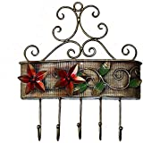 Crafticia Craft Rajasthani Handicraft Decorative Metal Flower Wall Hanging