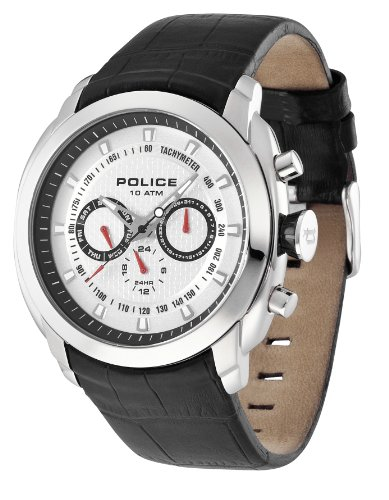 Police Men's Pilot Silver Watch 12677Js/04