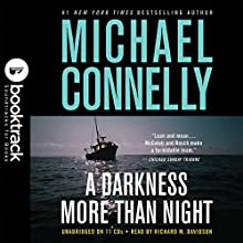 A Darkness More Than Night: Booktrack Edition Audiobook by Michael Connelly Narrated by Richard Davidson