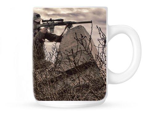 Sniper Coffee Mug Police Sniper Military Sniper Sniper Gift 15Oz (Swatmug9)