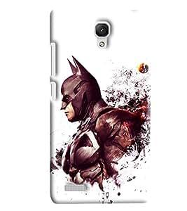 Blue Throat Batman Printed Designer Back Cover/Case For Xiaomi Redmi Note Prime