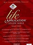 NIV Life Application Study Bible, Large Print (NIV Life Application Bible)