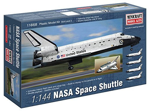 Minicraft NASA Shuttle Building Kit, 1/144 Scale (Space Shuttle Model Kit compare prices)