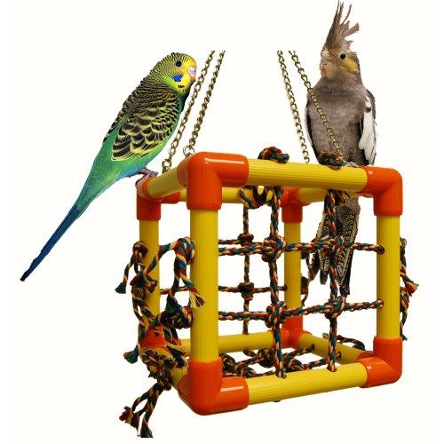 Image of Zoo-Max Cube Bird Toy Hanging Play Gym (B009AWE4O2)