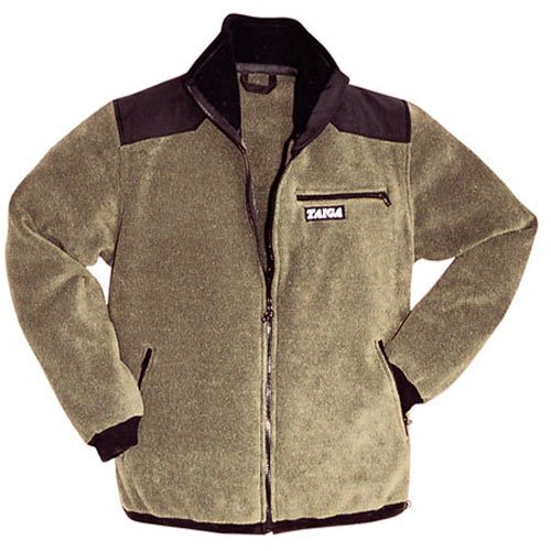 TAIGA Polartec Fleece-300 Sport - Men's Zip Fleece Jacket with Underarm Zippers and Elbow Patches, MADE IN CANADA