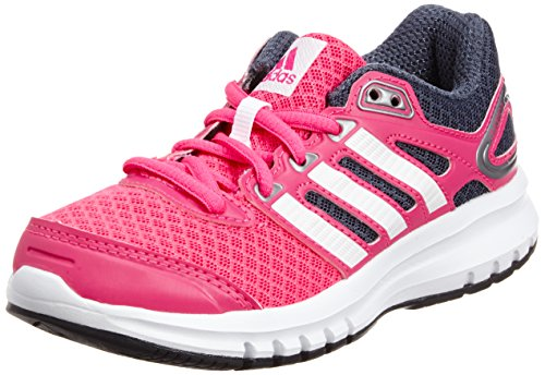 adidas Performance Duramo 6, Unisex-Kinder Laufschuhe, Pink (Solar Pink/Core White/Bold Onix), 36 2/3 EU (4 Kinder UK)