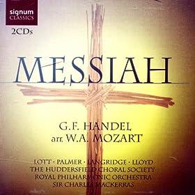 Messiah - G.F. Handel, arr. W. A. Mozart