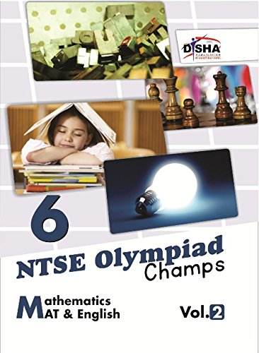 NTSE-NMMS/Olympiads Champs Class 6 Mathematics/Mental Ability/English - Vol. 2