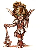 Stonehaven Gnome Artificer Miniature