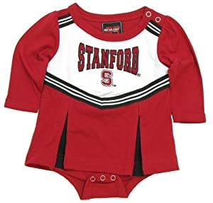 Buy Genuine Stuff Stanford Cardinal Newborn Infant Creeper Cheer Dress by adidas