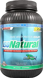 Allmax Nutrition IsoNatural - Whey Protein Isolate Unflavored 2 lbs
