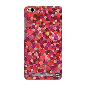 Designer Xiaomi Redmi 3 Case Cover Nutcase - Digital Paper Red