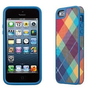 Speck SPK-A1592 FabShell Mega Plaid Case für Apple iPhone 5 Spectrum