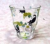 黒猫フラワーグラス クローバー