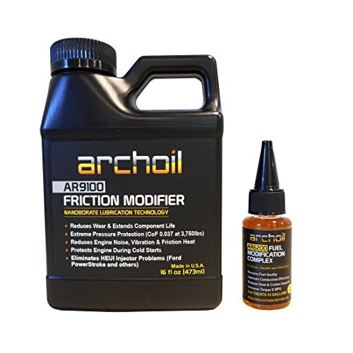 AR9100 (16 oz) - Friction Modifier and AR6200-1oz (Treats 80 Gallons of any fuel)