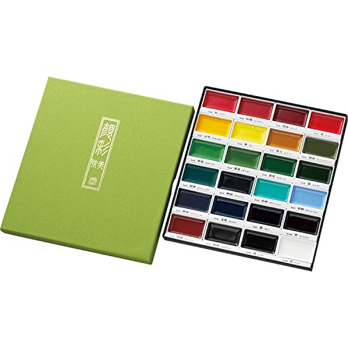kuretake-gansai-tambi-japanese-watercolour-paints-24-colour-set