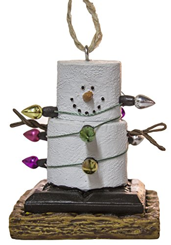 S'Mores Wrapped Up In Lights Ornament