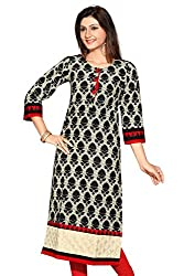 Le Moda Ladies Jaipur Printed Fancy Pakistani Long Kurti Office Ethnic Fancy Daily Wear Kurta