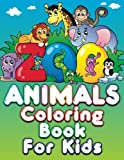Zoo Animals Coloring Book For Kids (Super Fun Coloring Books For Kids) (Volume 38)