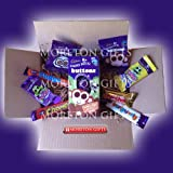 Cadbury Easter Treats Box - Buttons Egg, Buttons, Chomp, Freddo, Curlywurly, Fudge, Crunchie - By Moreton Gifts - Great Birthday Gift, Treat