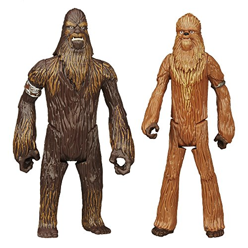 Star Wars Mission Series Figure Set (Wullffwarro and Wookiee Warrior)