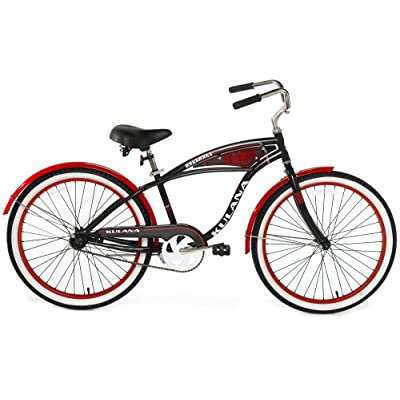 Amazon.com : Kulana Makamaka Cruiser Bike (24-Inch Wheels) : Cruiser