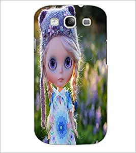 PRINTSWAG CUTE GIRL Designer Back Cover Case for SAMSUNG GALAXY S3
