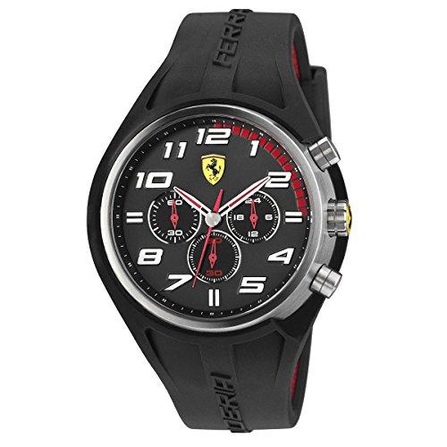 Ferrari De los hombres Scuderia Sport Chrono Analógico Dress Cuarzo Reloj 0830147