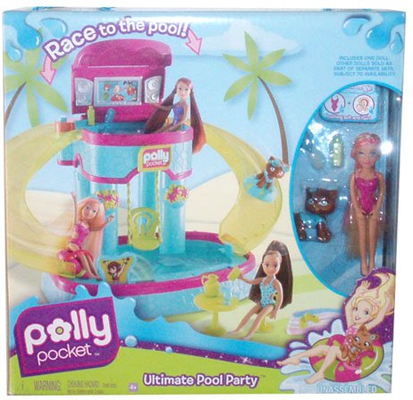 Cheap waterslides february 2012 for Piscine polly pocket