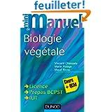 Mini Manuel de Biologie végétale - Cours + QCM
