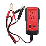 Jumpplay 12V Car Automotive Electronic Relay Tester Alligator Clip Car Tester Diagnostic Relay Buddy Electronic Specialties Tool (Color: As shown, Tamaño: 115x66x23mm)