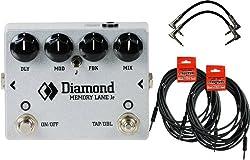 Diamond Memory Lane Junior - Delay Pedal w/ 4 Cables from Diamond