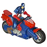 51YS7onVe7L. SL160  Marvel Captain America Zoom N Go Motorcycle