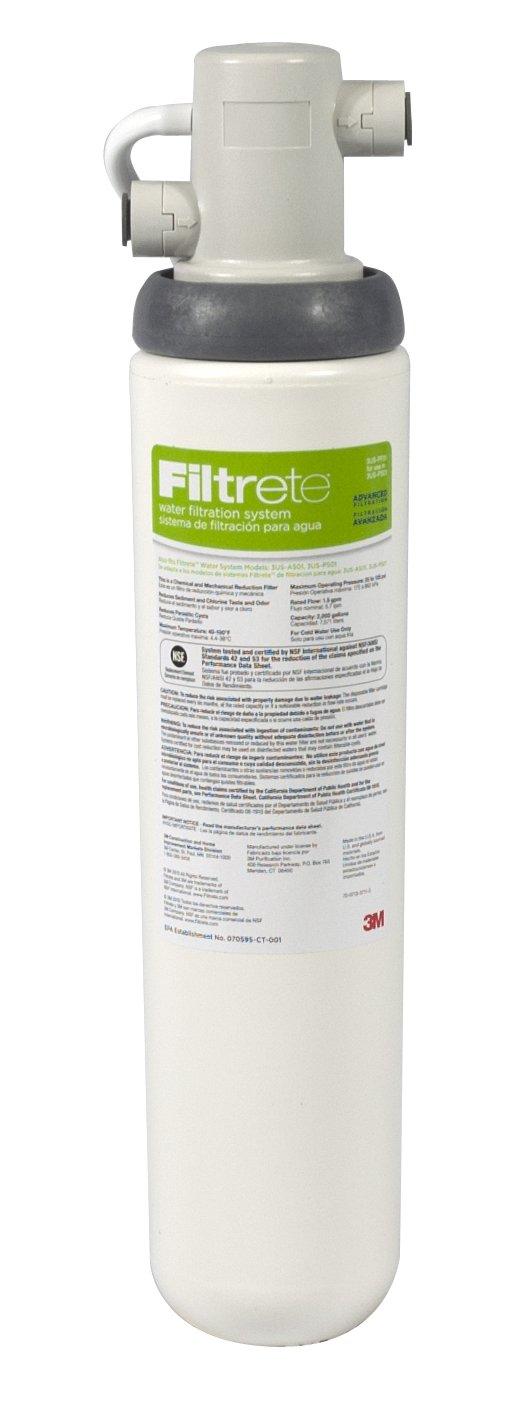 Filtrete Under Sink Advanced Water Filtration System 3us