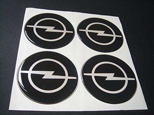 4 x 75mm OPEL Felgenaufkleber Aufkleber Stickers Emblem Logo Radkappen Silikon