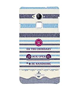 EPICCASE cool chowdary Mobile Back Case Cover For CoolPad Note 3 (Designer Case)